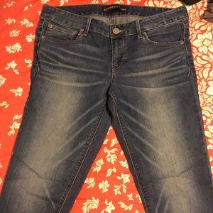Express Stella Low Rise jean legging size 10R